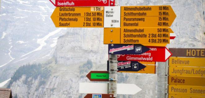 イメージ画像 多言語国家であるスイス