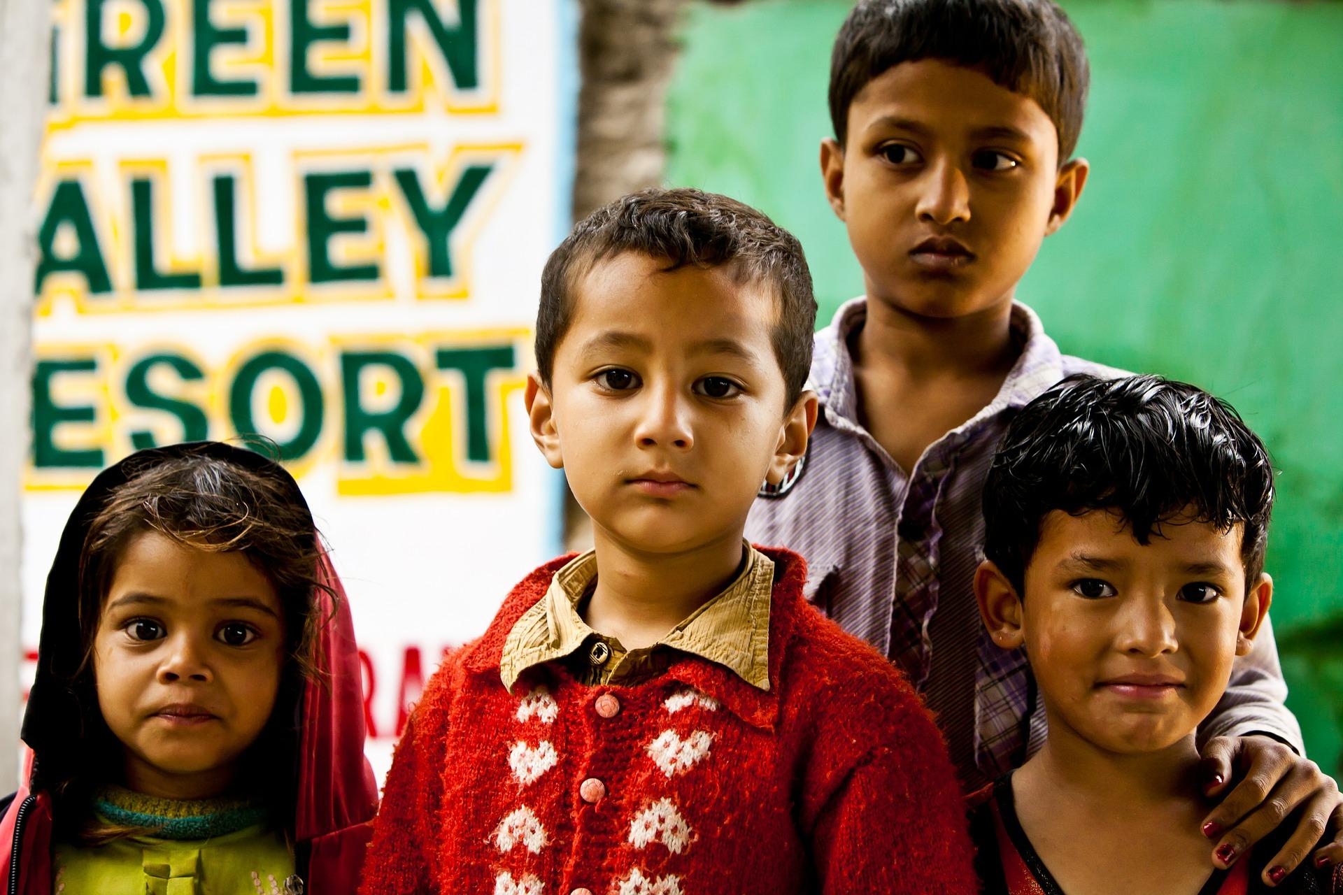 イメージ画像 ネパールの子どもたち