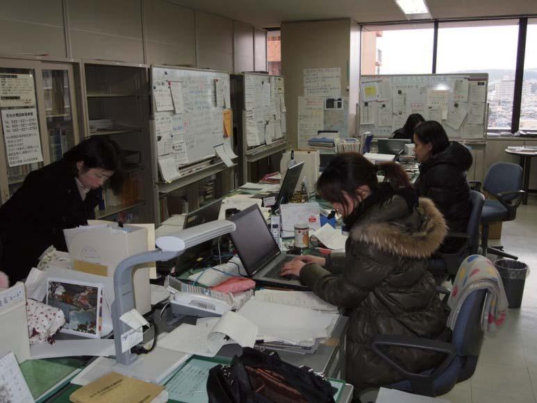 東日本大震災時のみやぎ外国人相談センター