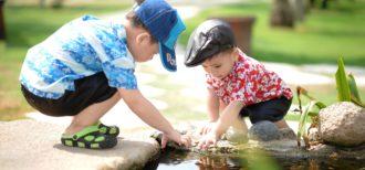 イメージ画像 1人より2人のほうが良い − 映像による乳児の言語学習力が仲間の存在で向上 −