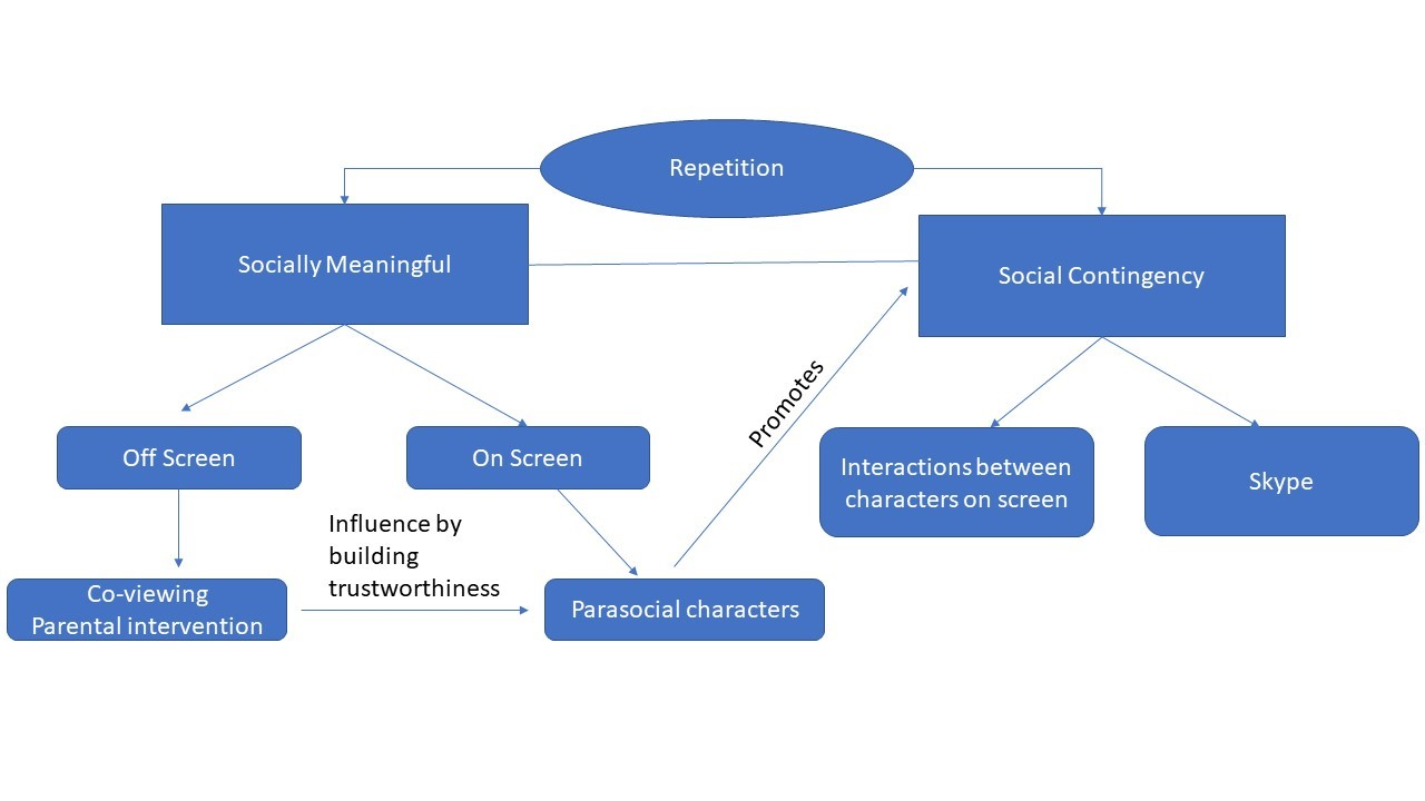 Image|Social mechanisms promoting learning from 2D screens