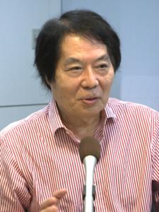 慶應義塾大学 田中茂範名誉教授の写真
