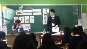 CLIL授業の風景 先生と生徒のコミュニケーション